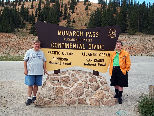 Monarch Pass the Continental Divide