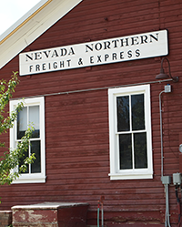 NV Northern Freight and Express sign